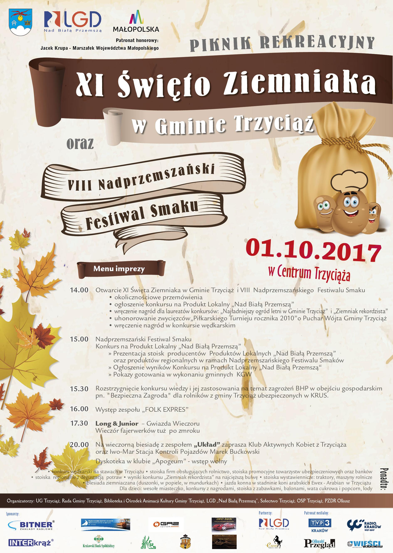 Zapraszamy na VIII Nadprzemszański Festiwal Smaku i Święto Ziemniaka w Trzyciążu!