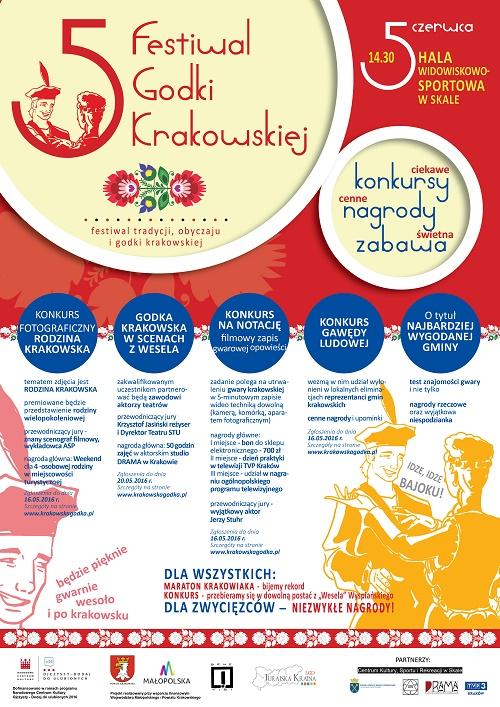 Zapraszamy do Skały na V Festiwal Godki Krakowskiej